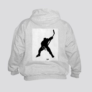 Hockey Player Kids Hoodie